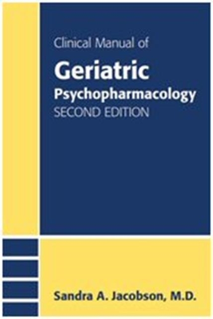 Afbeelding van Clinical Manual of Geriatric Psychopharmacology
