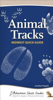 Afbeelding van Animal Tracks Midwest Quick Guide