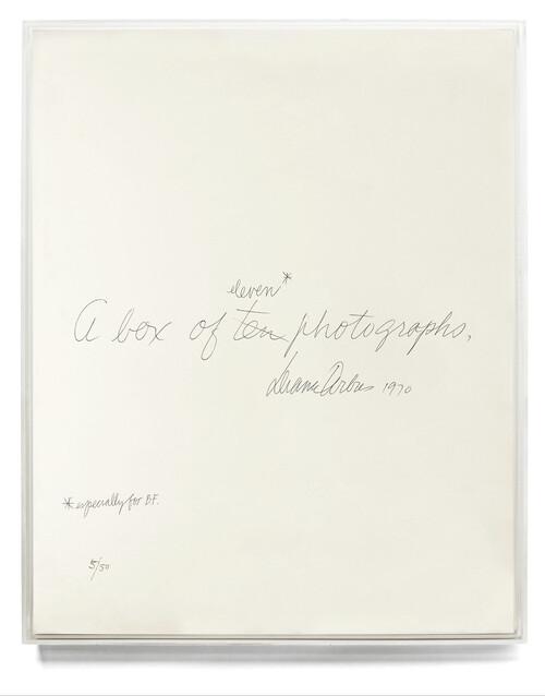 Afbeelding van Diane Arbus: A Box of Ten Photographs