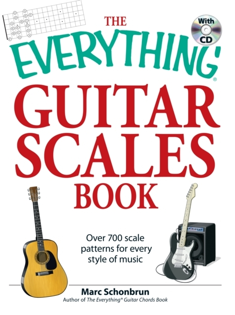 Afbeelding van The Everything Guitar Scales Book with CD