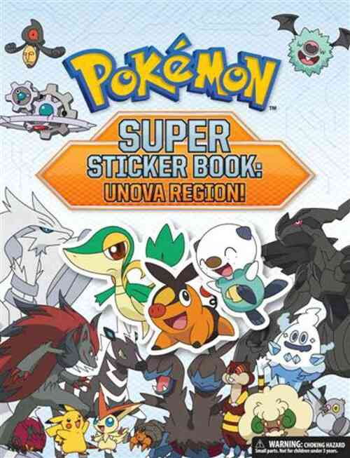 Pokemon Super Sticker Book kopen