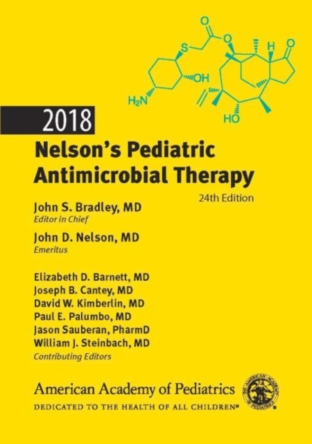 Afbeelding van Nelson's Pediatric Antimicrobial Therapy 2018