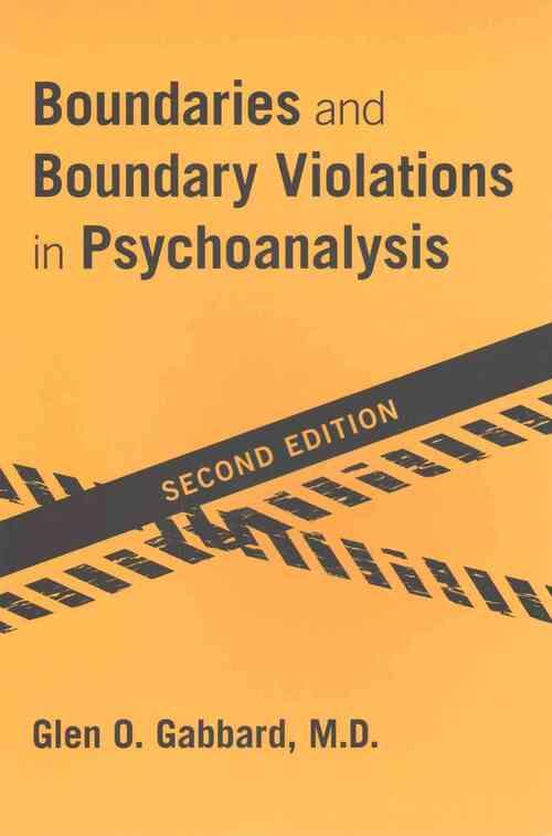 Afbeelding van Boundaries and Boundary Violations in Psychoanalysis