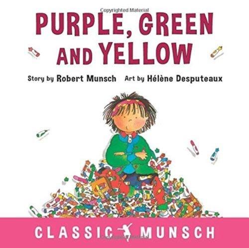 Afbeelding van Purple, Green and Yellow