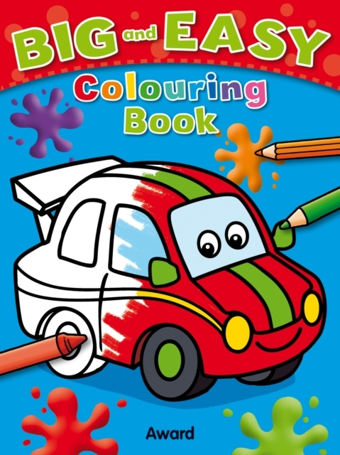 Afbeelding van Big and Easy Colouring Book - Car