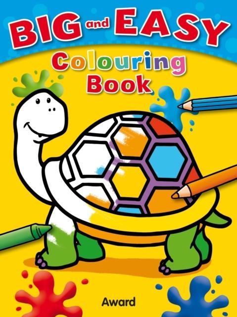 Afbeelding van Big and Easy Colouring Book - Tortoise