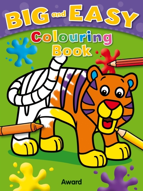 Afbeelding van Big and Easy Coloring Book - Tiger