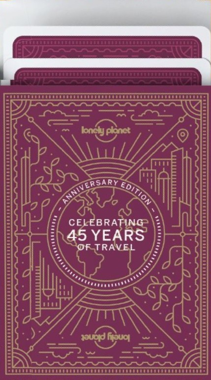 Lonely Planet 45th Anniversary Playing Cards