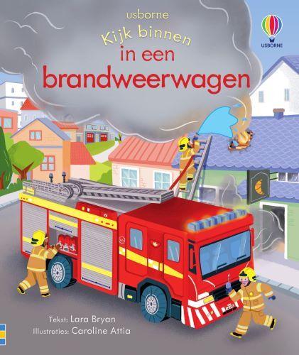 In een brandweerwagen