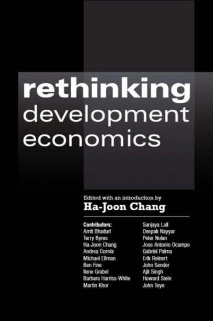 Afbeelding van Rethinking Development Economics