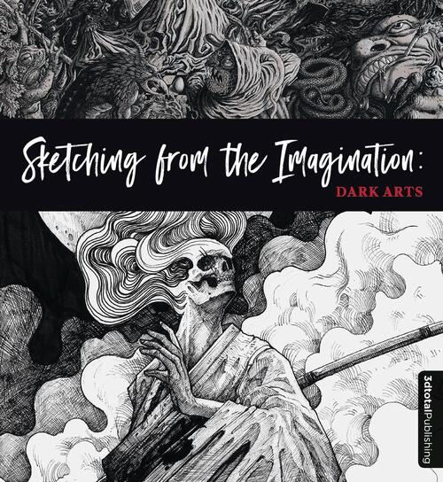 Afbeelding van Sketching from the Imagination: Dark Arts