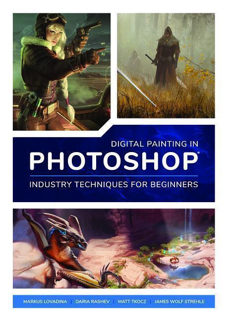 Afbeelding van Digital Painting in Photoshop: Industry Techniques for Begin