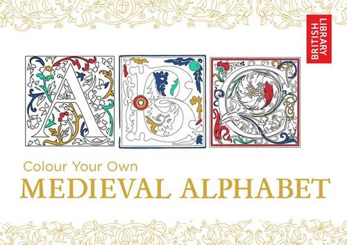 Afbeelding van Colour Your Own Medieval Alphabet