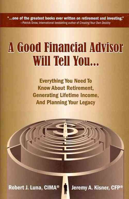 Afbeelding van A Good Financial Advisor Will Tell You...