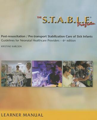 Afbeelding van The S.T.A.B.L.E. Program, Learner Manual