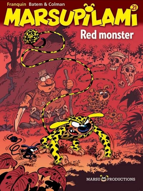 Afbeelding van Marsupilami 21. Red Monster