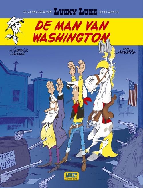Afbeelding van Lucky Luke - 03 - De Man Van Washington