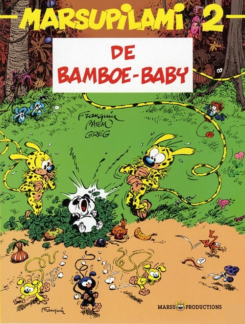 Afbeelding van Marsupilami - 2 - DE BAMBOE BABY