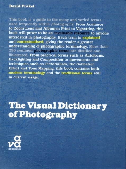 Afbeelding van The Visual Dictionary of Photography