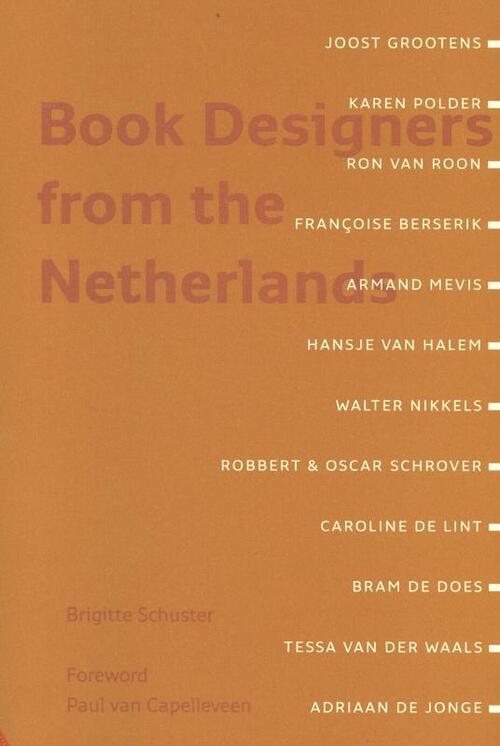 Afbeelding van Book de signers from the Netherlands