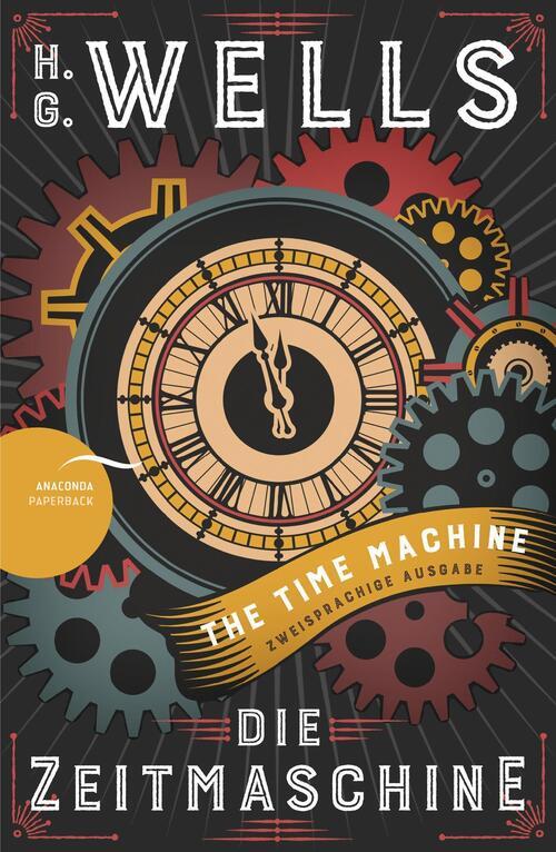 Afbeelding van Die Zeitmaschine / The Time Machine (Zweisprachige Ausgabe, Englisch-Deutsch)