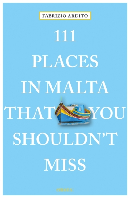 Afbeelding van 111 Places in Malta That You Shouldn't Miss