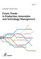 Afbeelding van Future Trends in Production, Innovation and Technology Management (2011)