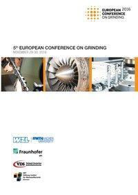 Afbeelding van 5th European Conference on Grinding (English)