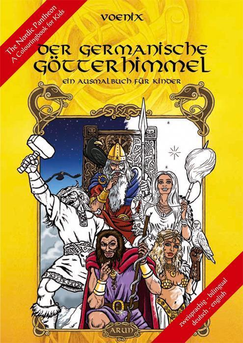 Afbeelding van Der germanische Götterhimmel - Ein Ausmalbuch für Kinder