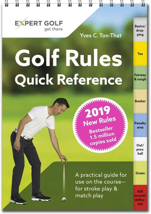 Afbeelding van Golf Rules Quick Reference 2019