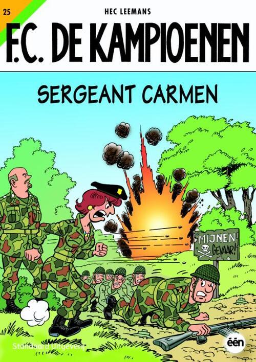 F.C. De Kampioenen 25 - Sergeant Carmen kopen