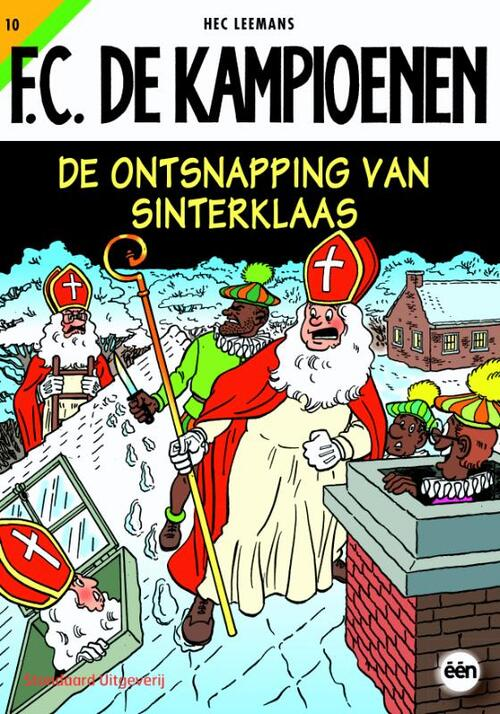 F.C. De Kampioenen 10 - De ontsnapping van Sinterklaas kopen