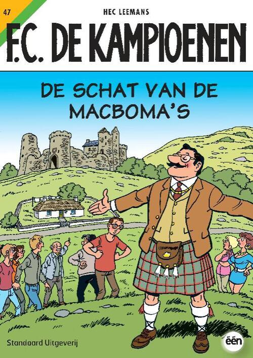 F.C. De Kampioenen 47 - De Schat van de macboma's kopen