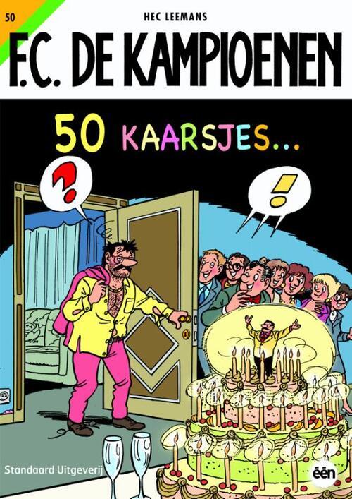F.C. De Kampioenen 50 - 50 kaarsjes kopen