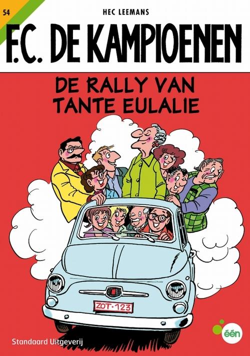 F.C. De Kampioenen 54 - De rally van tante Eulalie kopen