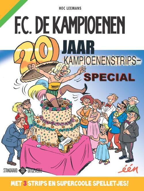 F.C. de Kampioenen - 20 jaar Kampioenenstrips-special kopen