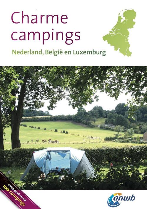 Afbeelding van ANWB Charmecampings Nederland, België en Luxemburg