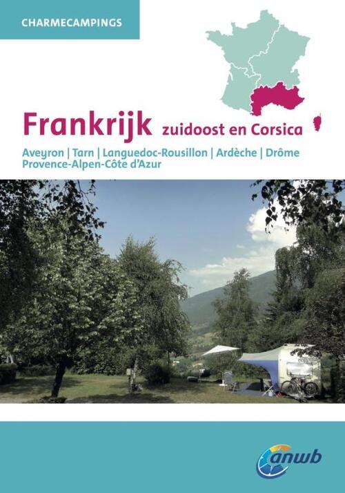 Afbeelding van ANWB Charmecampings Frankrijk zuidoost en Corsica