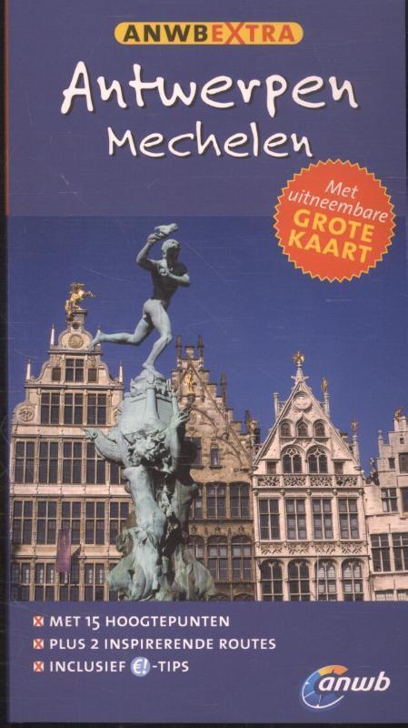 Afbeelding van ANWB extra : Antwerpen & Mechelen