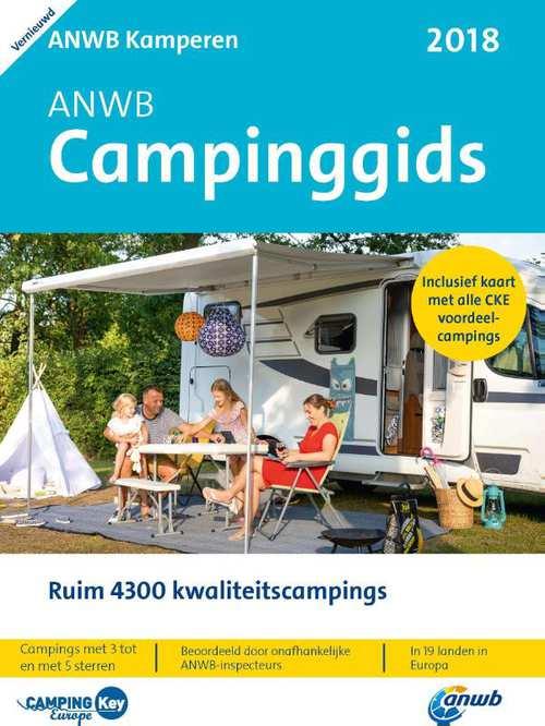 Afbeelding van ANWB Campinggids 2018