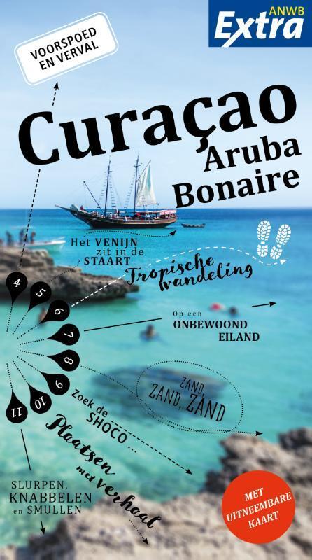 Afbeelding van ANWB Extra - Curacao, Aruba en Bonaire