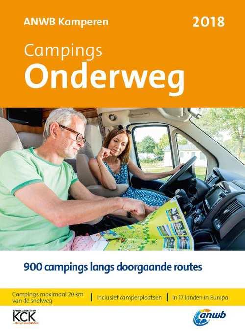 Afbeelding van ANWB Campinggids - Campings Onderweg 2018
