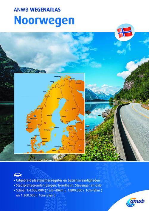 Afbeelding van ANWB Wegenatlas - Noorwegen