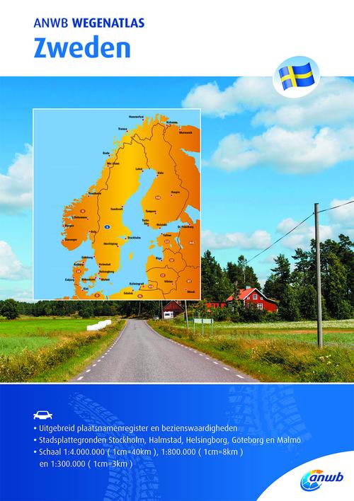 Afbeelding van ANWB Wegenatlas - Zweden