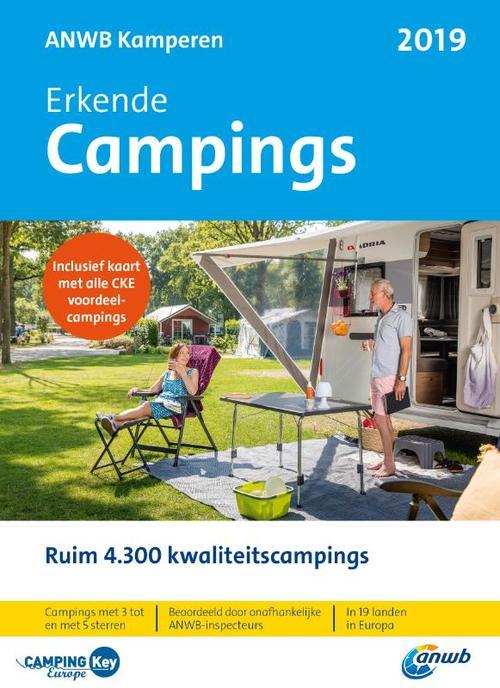 Afbeelding van ANWB Campinggids 2019