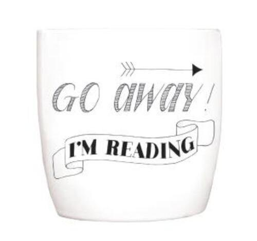 Afbeelding van Blossom Mugs 8x Go away, I'm reading
