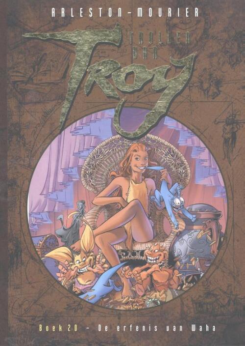 Trollen van Troy 20 - De erfenis van Waha