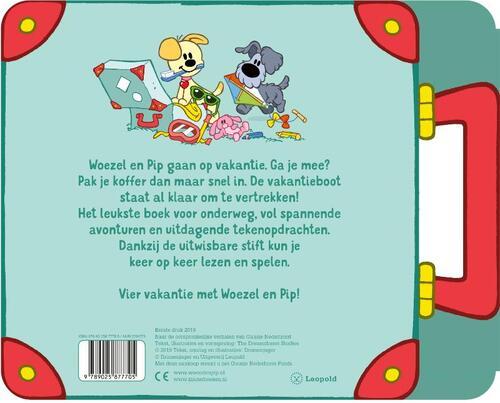Verbazingwekkend Woezel & Pip gaan op vakantie!, Guusje Nederhorst   9789025877705 ON-21