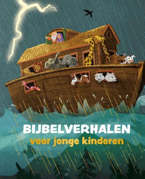 Bijbelverhalen voor jonge kinderen Hardcover Nog niet verschenen, verwacht vanaf 24-09-2019 Kokboekencentrum Jeugd