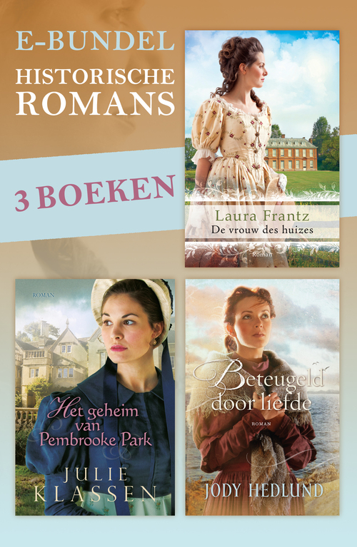Historische romans e-bundel (3 eBooks)